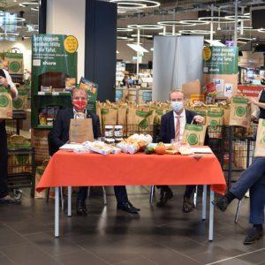 """19. Oktober; REWE startet Aktionswochen """"gemeinsam Teller füllen"""""""