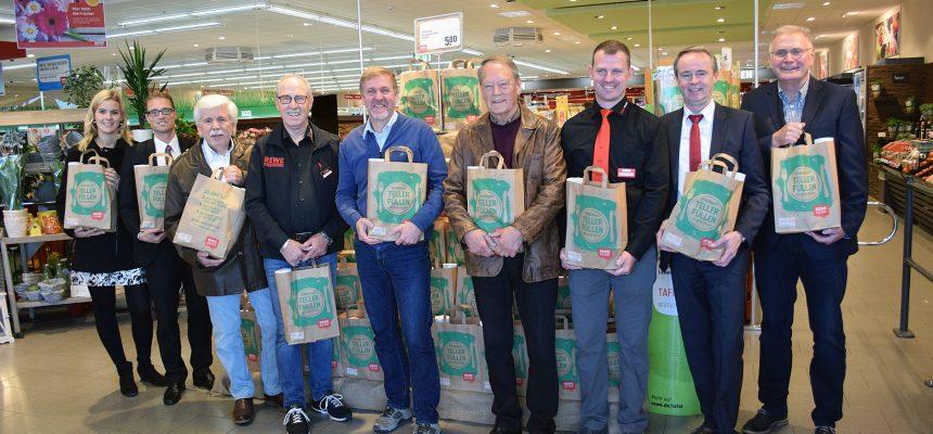 REWE und nahkauf starten Spendenaktion für Tafeln