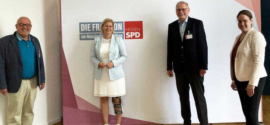 politischer Herbst 2020; Tafel Hessen e.V. trifft die SPD
