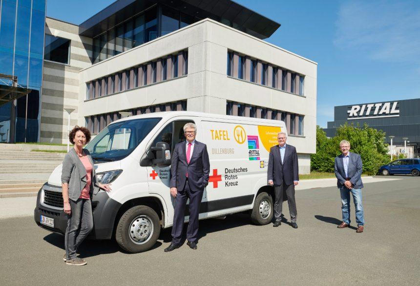 Juni 2020; Hilfe für Helfer – Friedhelm Loh Group sponsert die Tafeln