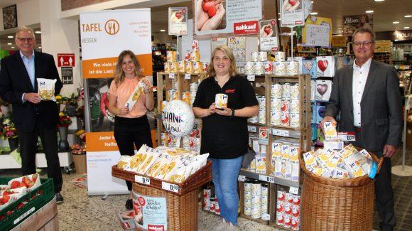 Juni 2020, nahkauf-Händler unterstützen die Tafeln